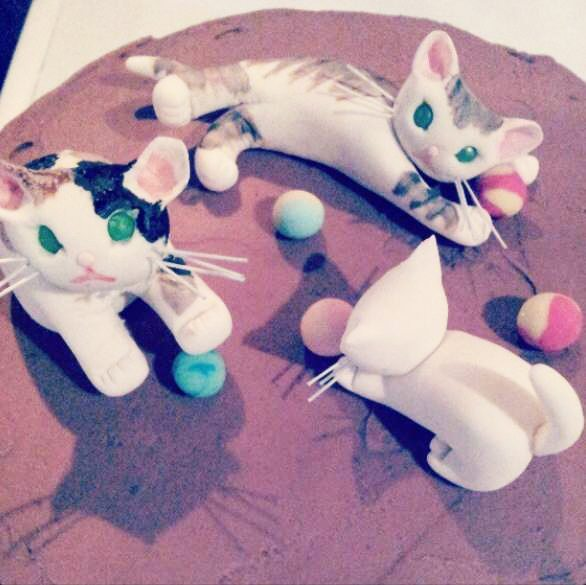 Kittens cake by BRICK LANE Sweets