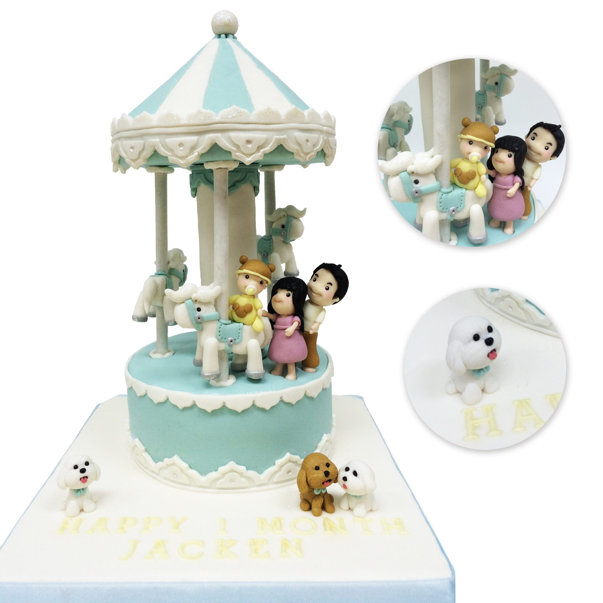 Carousel Cake by BRICK LANE Sweets