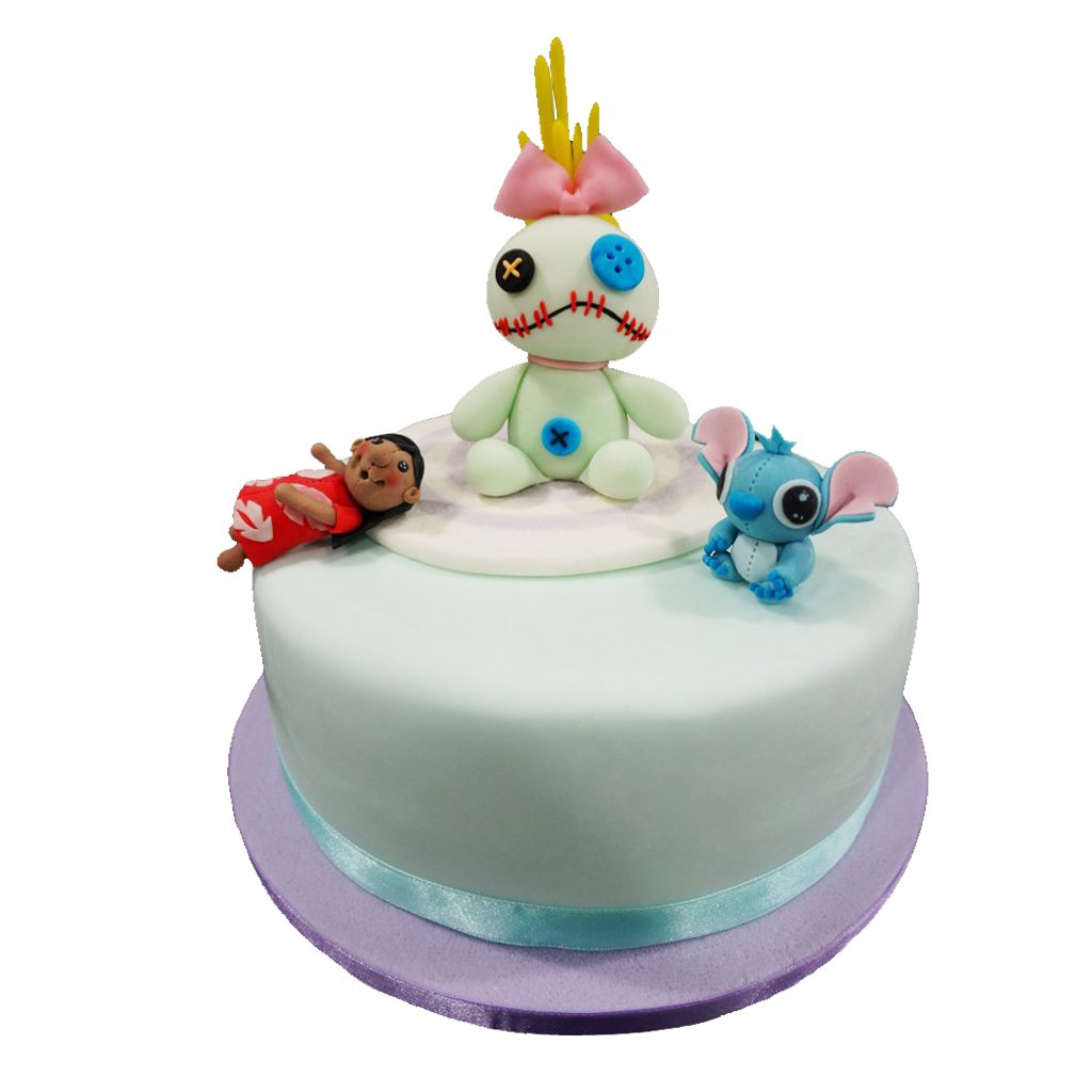 Stitch & Lilo cake by BRICK LANE Sweets