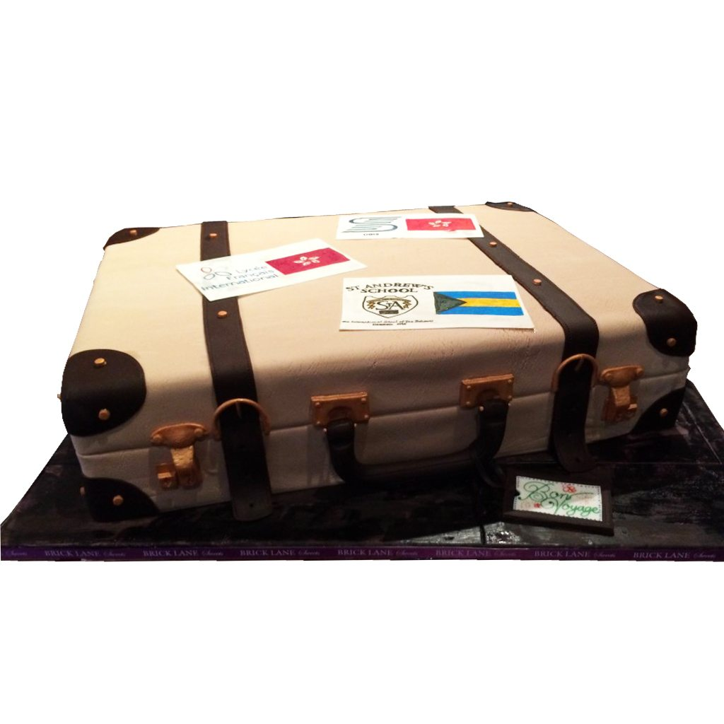 Luggage cake by BRICK LANE Sweets