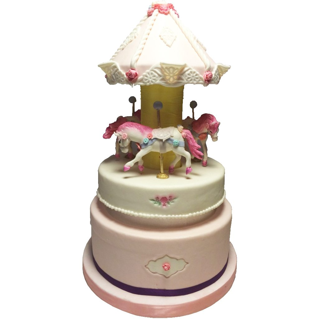 Merry Go Round cake by BRICK LANE Sweets
