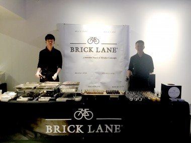 BRICK LANE pop up at CIS