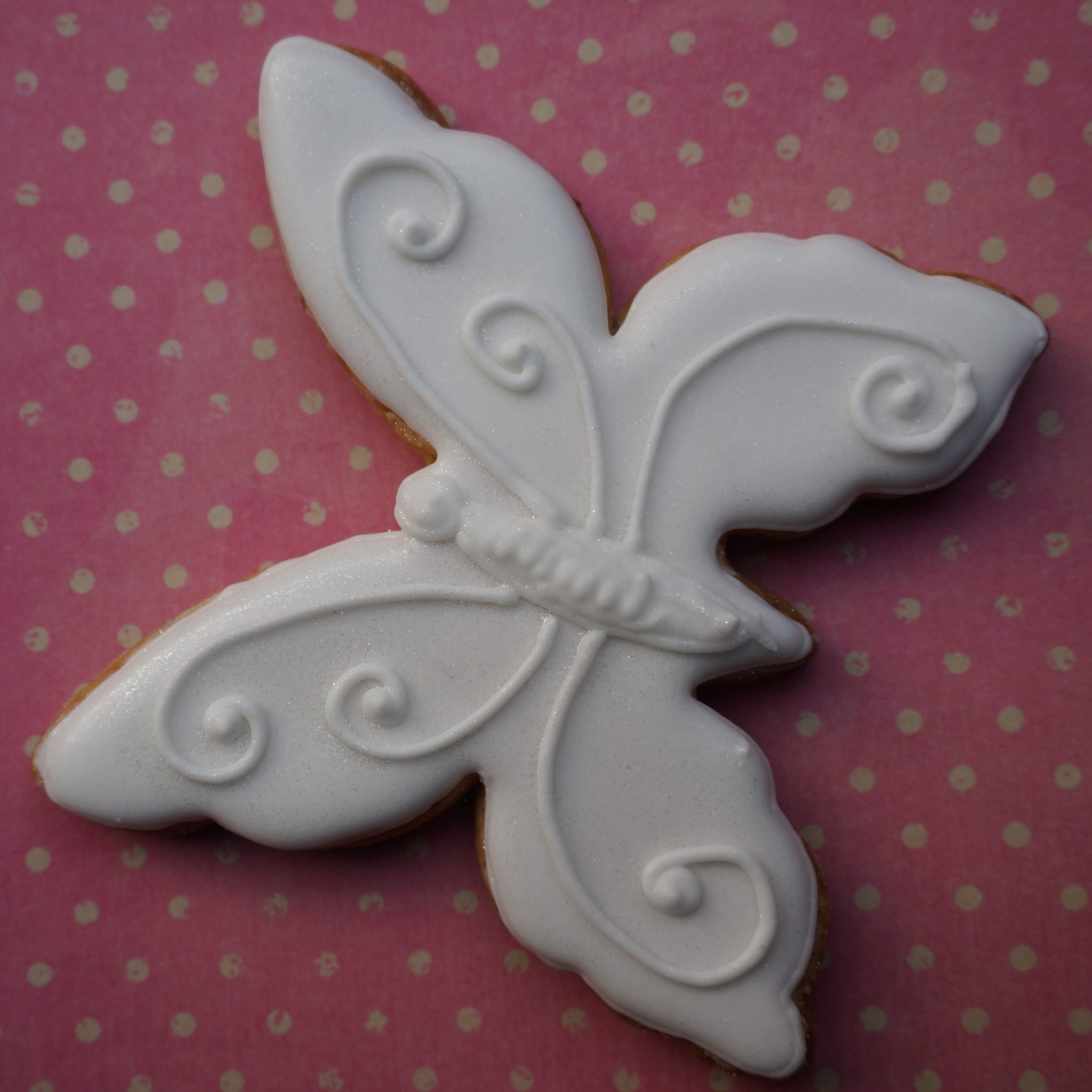 Decorated Cookies by BRICK LANE Sweets butterfly