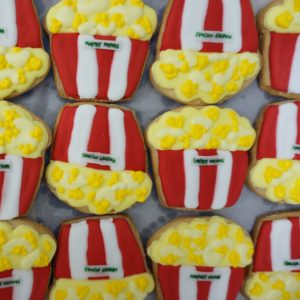 Decorated Cookies by BRICK LANE Sweets popcorn