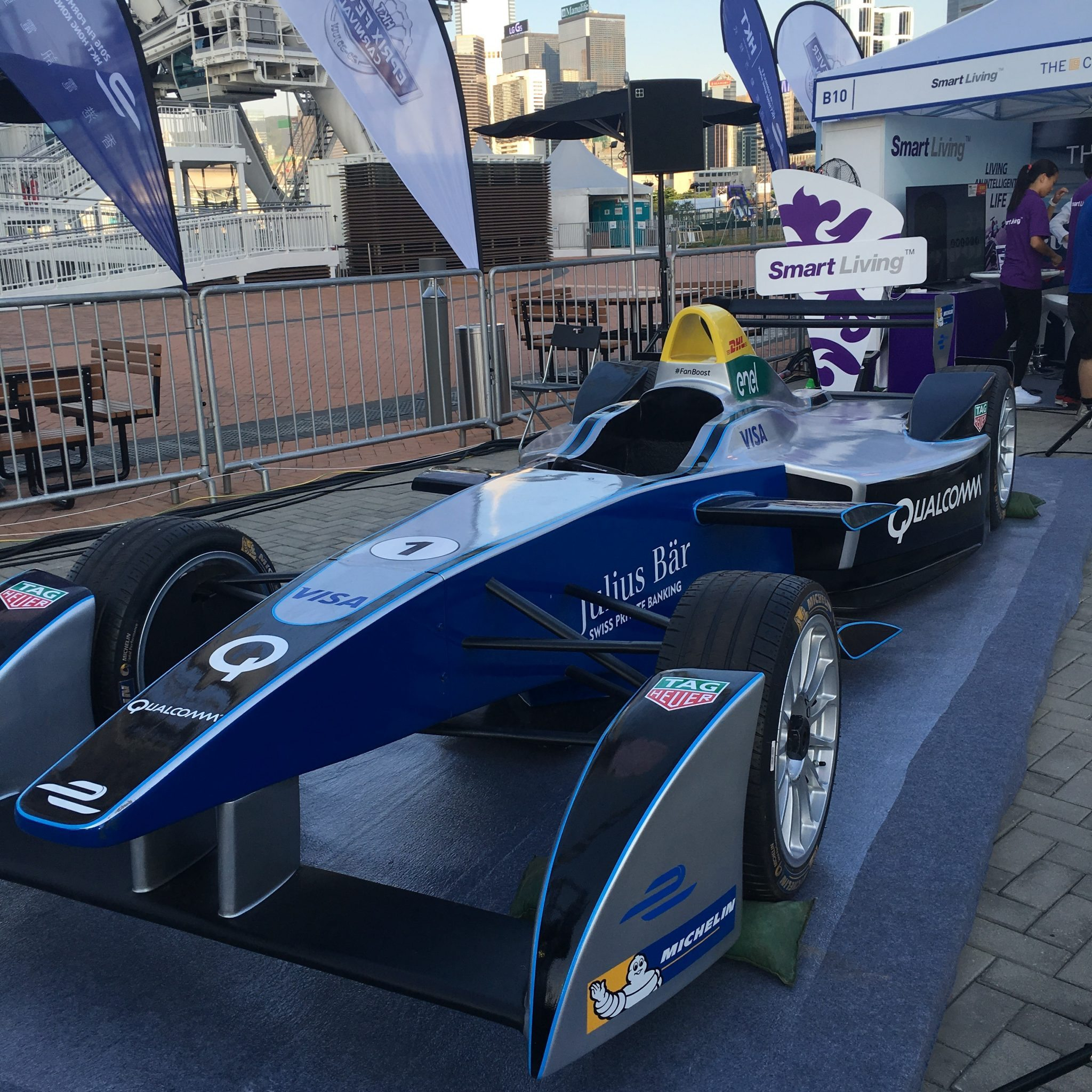 BRICK LANE pop up Formula E pre event
