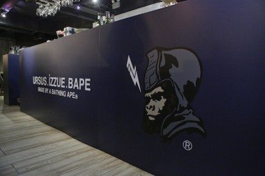 URSUS.IZZUE.BAPE | BRICK LANE Gallery Pop Up Cafe