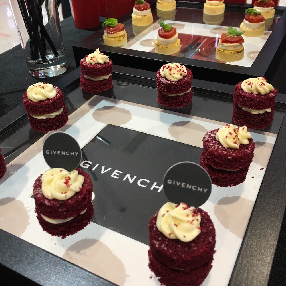 Givenchy product event by BRICK LANE Catering