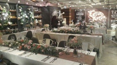 BRICK LANE Wedding venue decoration reference @ Admiralty