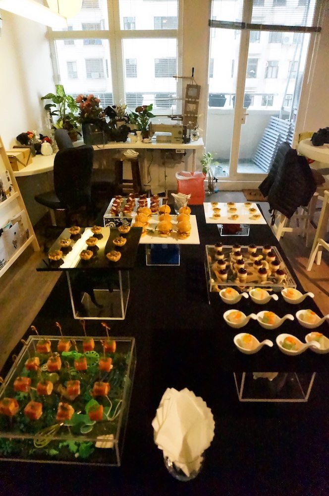 Winnie Lui Designs private event by BRICK LANE Catering