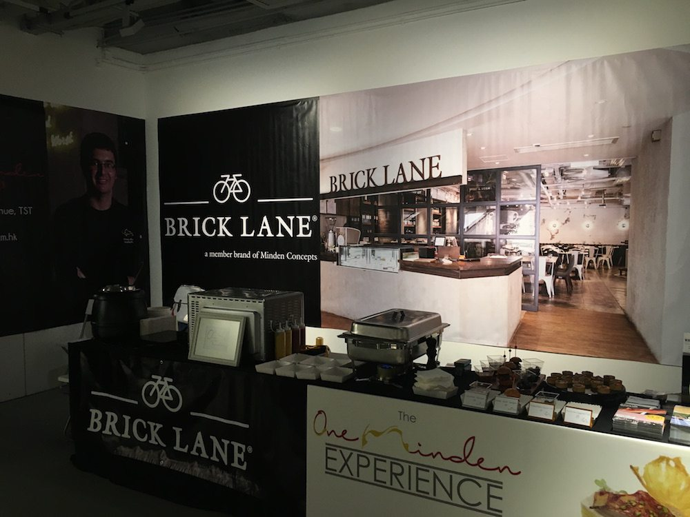 BRICK LANE pop up @ Sassy Gourmet Evening 2016