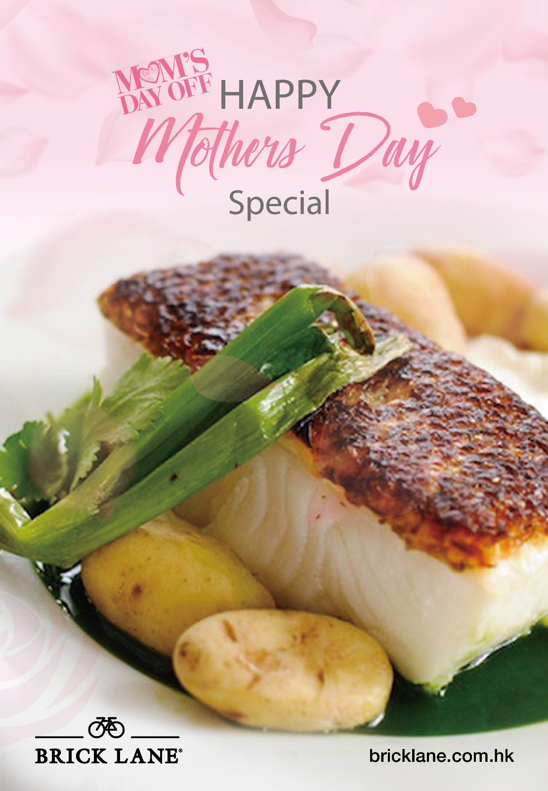 brick lane mothers day dinner special