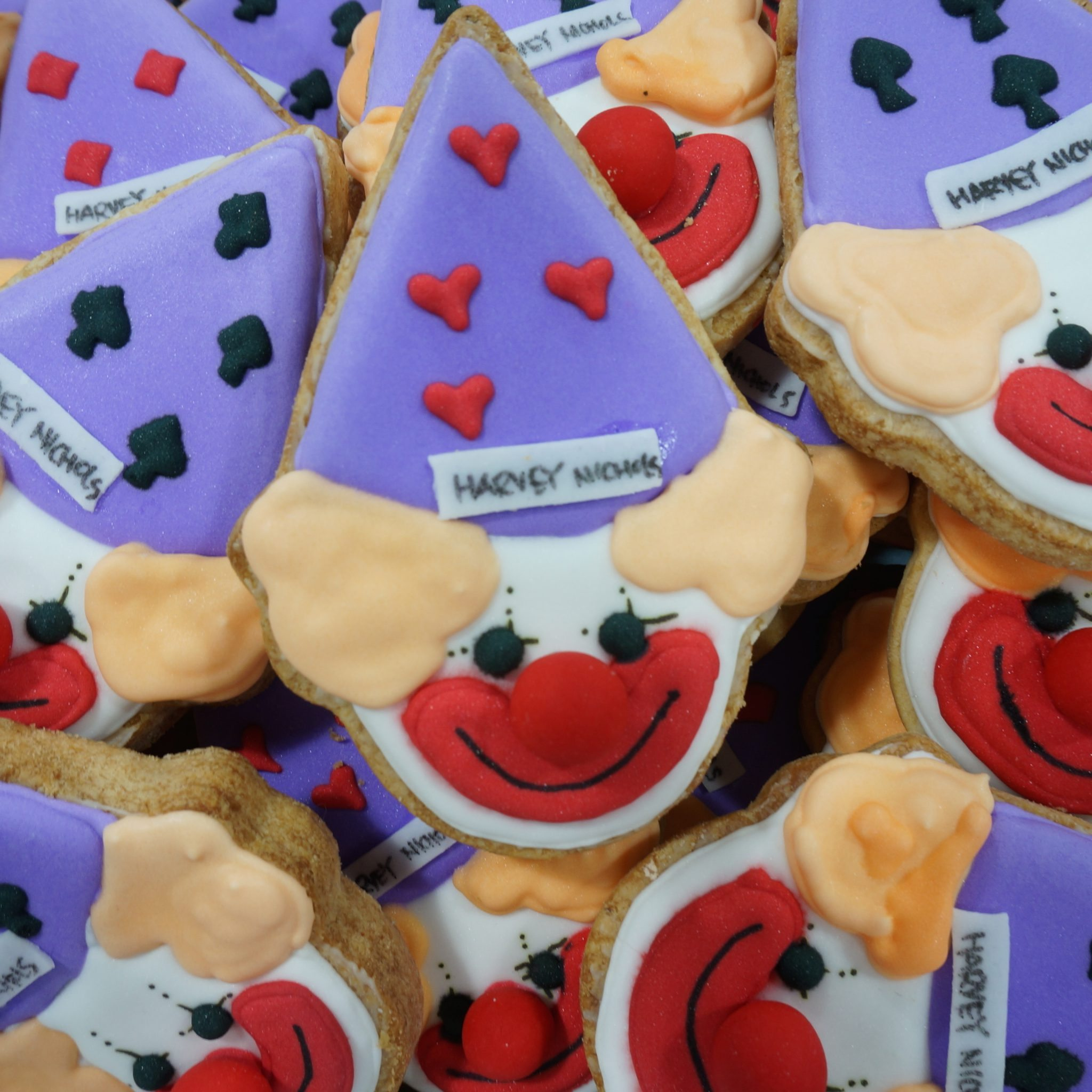 Decorated Cookies by BRICK LANE Sweets clown