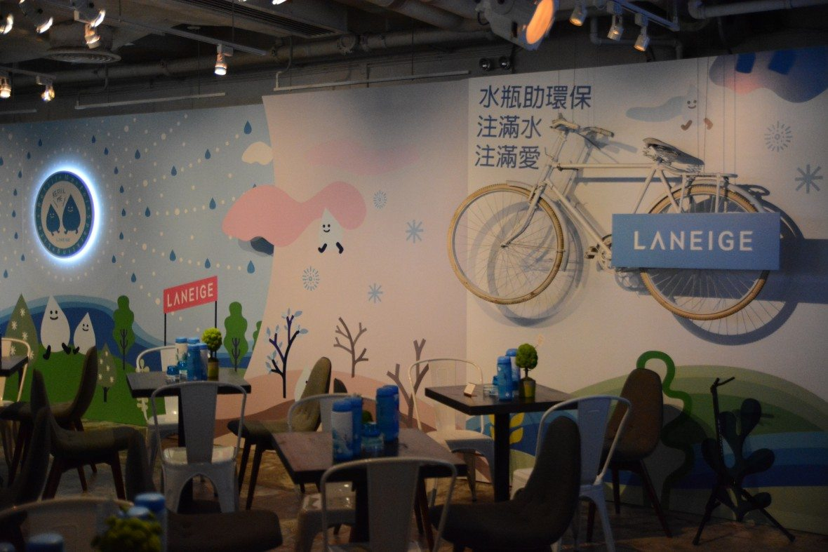 LANEIGE product launch event at BRICK LANE Admiralty