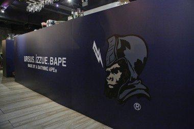 URSUS.IZZUE.BAPE | BRICK LANE Gallery Pop Up Cafe