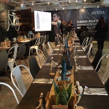 Aveda product event @ BRICK LANE by BRCK LANE Catering