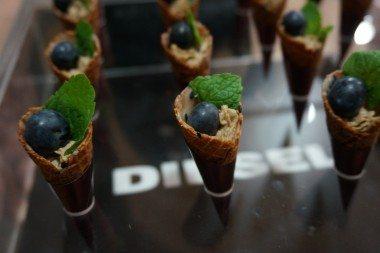 Foie gras mousse cone